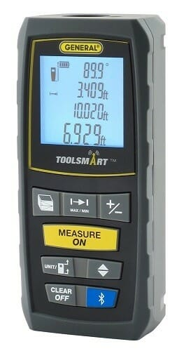 General Tools TS01 ToolSmart Laser Measure